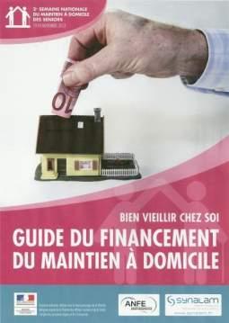 Guide du financement du maintien à domicile