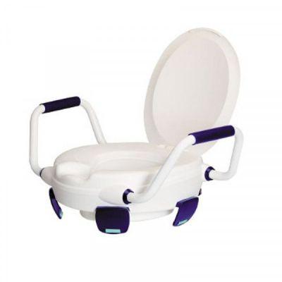 Réhausse WC avec Poignées + Abattant - Image 1